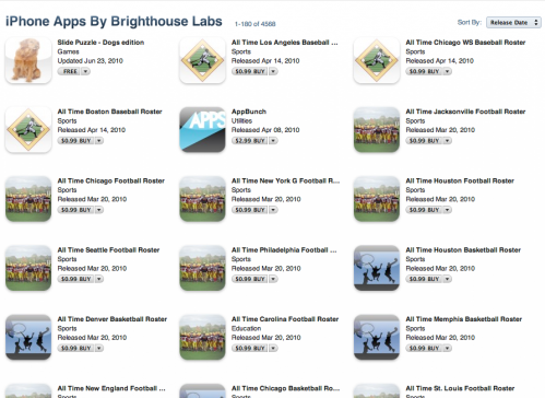Brighthouse Labs in AppStore screenshot
